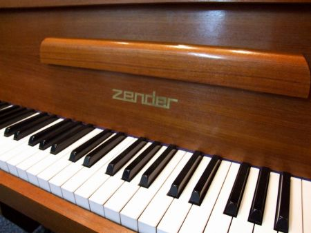 Zender grand and upright piano