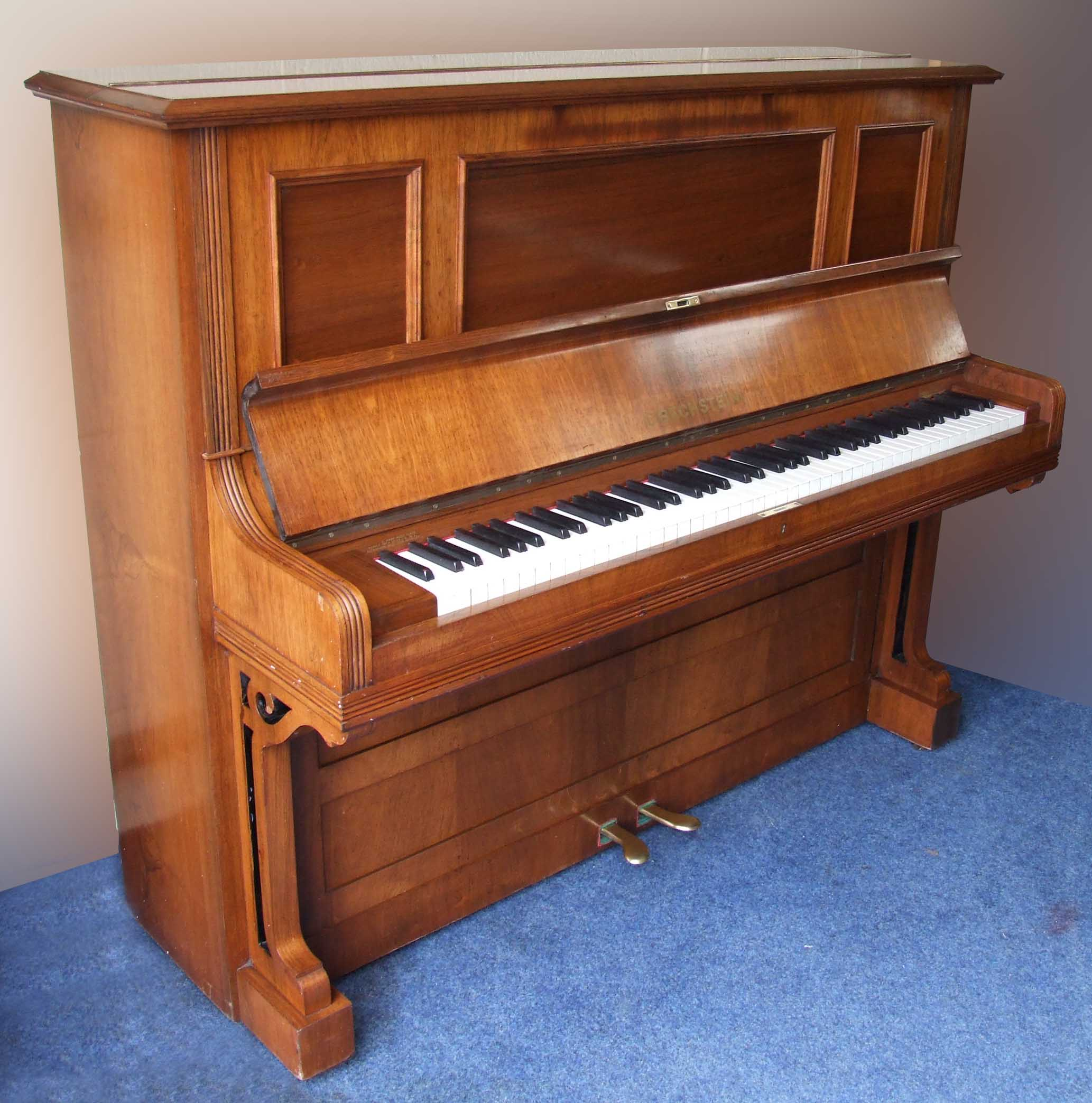 Photo of Bechstein model 9 Upright piano