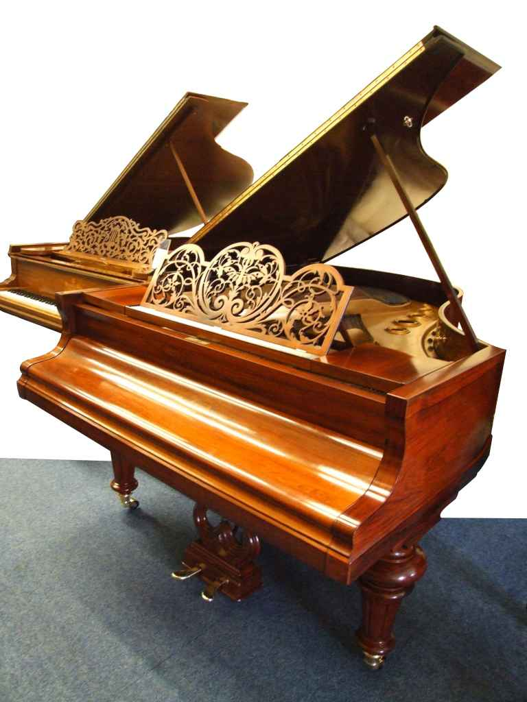 Bluthner style 7 grand piano