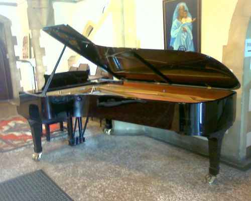 Photo of Steinway model D Grand piano