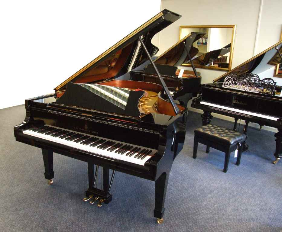 Photo of Steinway model B Grand piano