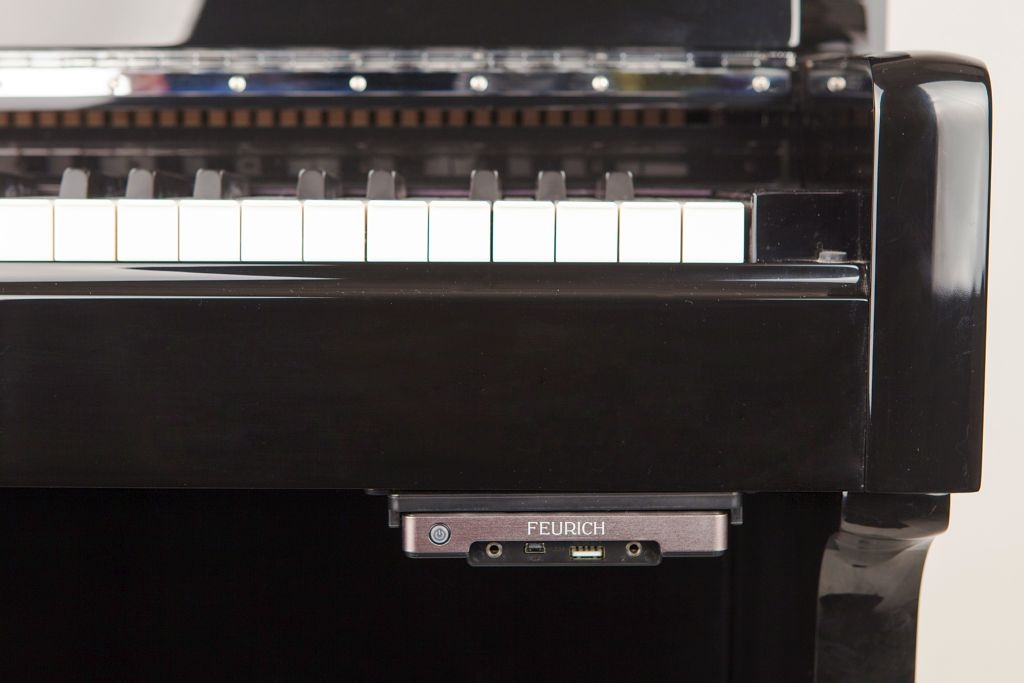 Photo of Feurich 122 Silent System Upright piano