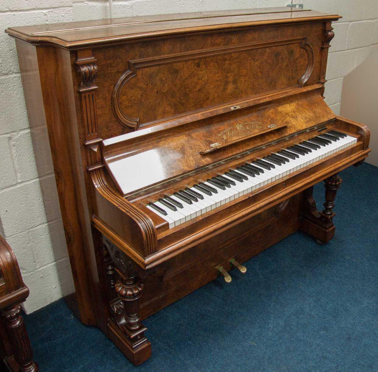 Photo of Richard Lipp  Upright piano