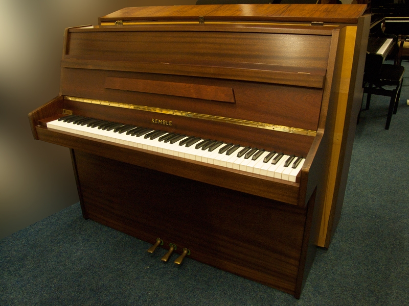 Kemble pianos for sale for Small upright piano dimensions