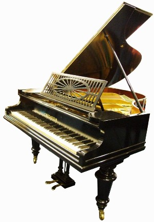model a Bechstein grand piano