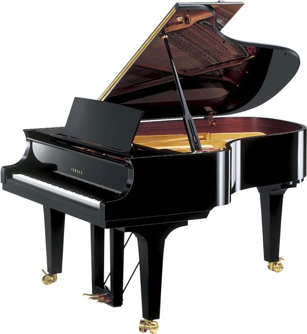 Modern yamaha grand pianos for Yamaha baby grand piano used