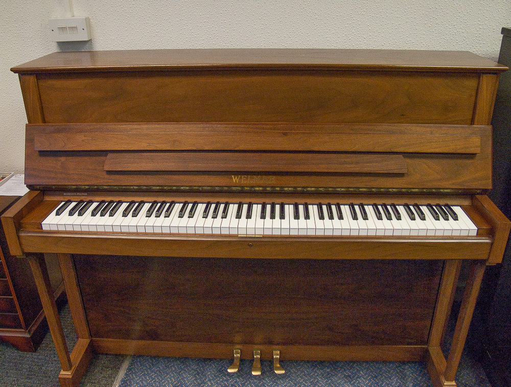 walnut english pianos by weimar pianos