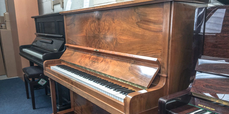 bechstein model 8 in walnut