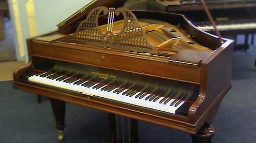 rosewood broadwood grand piano