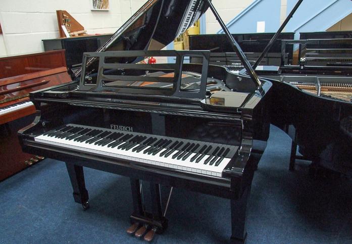 black kawai 161 grand piano