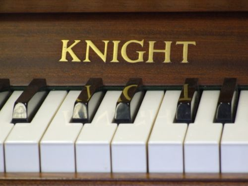 knight upright piano English Pianos