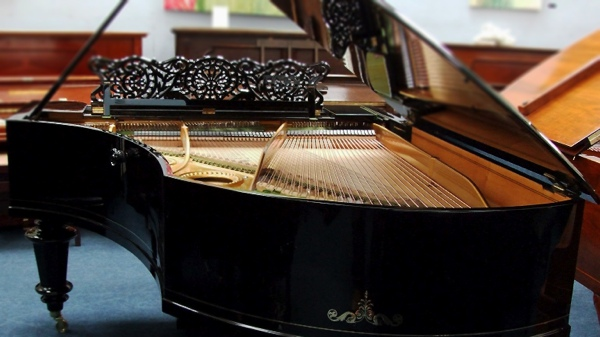 bechstein model v grand piano