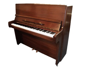 welmar dark mahogany upright piano
