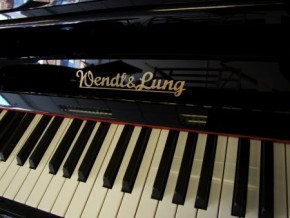 upright piano by Wendl and Lung pianos