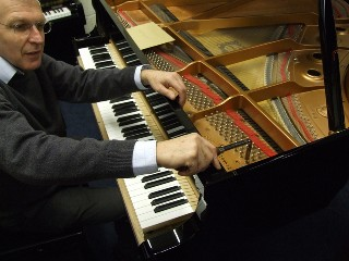 GB1 tuning mistake, Marcus Roberts, Steinway pianos, yamaha upright and grand