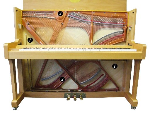 Piano Soundboard Amp Frame Roberts Pianos