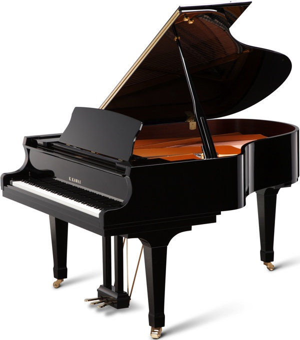 GX-3 kawai grand piano in black