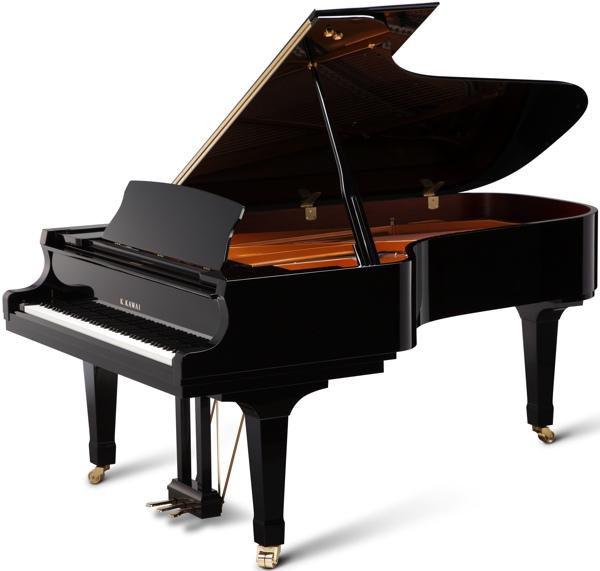 black Kawai gx 7 grand piano