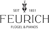 Feurich logo7 Top makes of used pianos