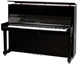 Feurich 122 upright piano