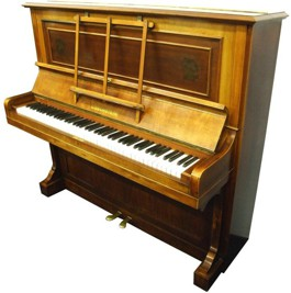 bechstein model 10 upright piano 010 Used Upright pianos