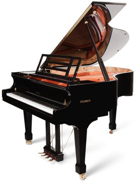 feurich 178 grand piano Wendl & Lung Pianos