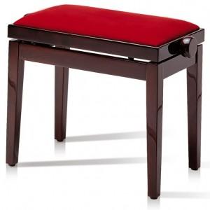 Single adjustable piano stool