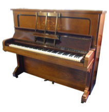 model v steinway grand piano