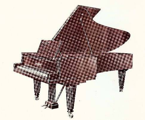 Model 275 Grotrian Steinweg Concert Grand Piano