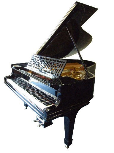 A restored steinway model a grand piano