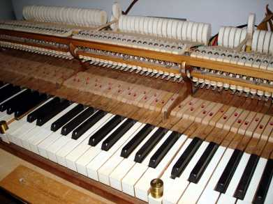 action weigh Piano Restoration and Choosing a piano