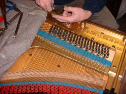 restringing Piano Restoration and Choosing a piano