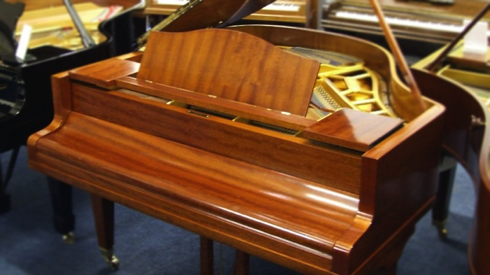 bluthner style 4 baby grand piano