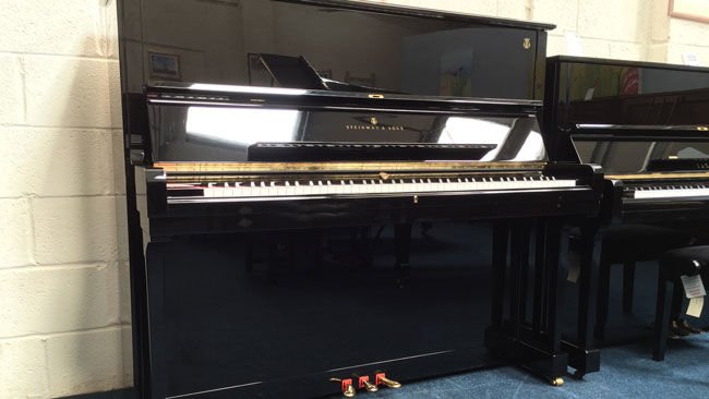 Kawai Upright Piano >> Steinway & Sons Upright Pianos for Sale - Steinway Pianos