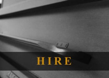 piano hire service