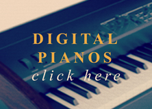 black digital piano for sale in oxford