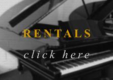 black rental piano