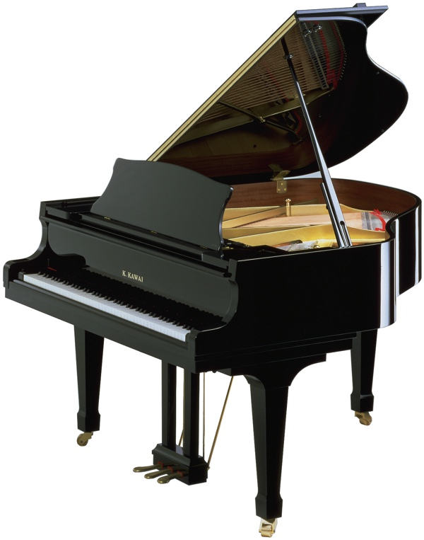 model RX-1 kawai grand piano in black polyester