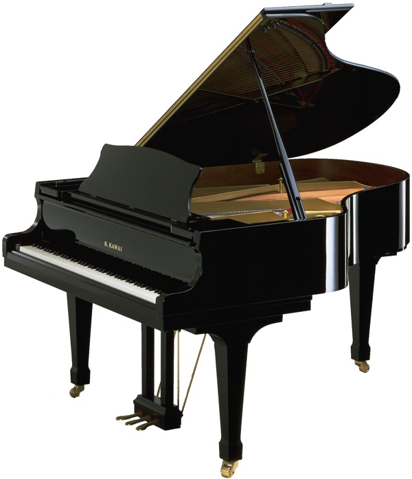 model RX-3 kawai grand piano in black polyester