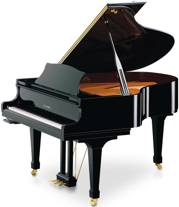 model RX2ATX kawai grand piano in black polyester