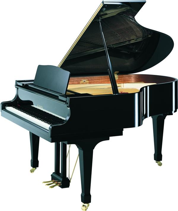 black kawai RX conservatory grand pianos