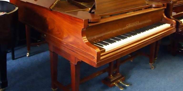 model a mahogany bechstein grand piano