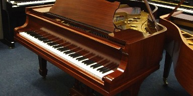 steinway piano restoration, model o grand piano