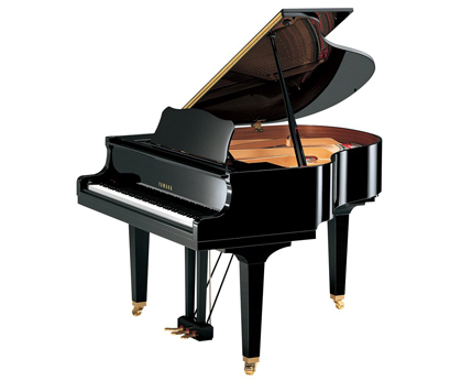 yamaha gb1 grand piano in black polyester