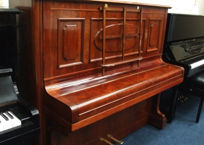 rosewood bechstein 7 upright piano