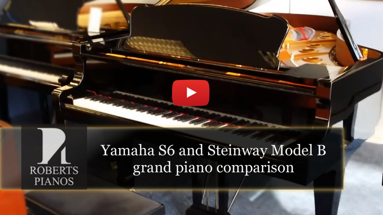 Steinway model B vs Yamaha S6 handcrafted grand pianos