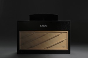 kawai digital piano with wooden soundboard