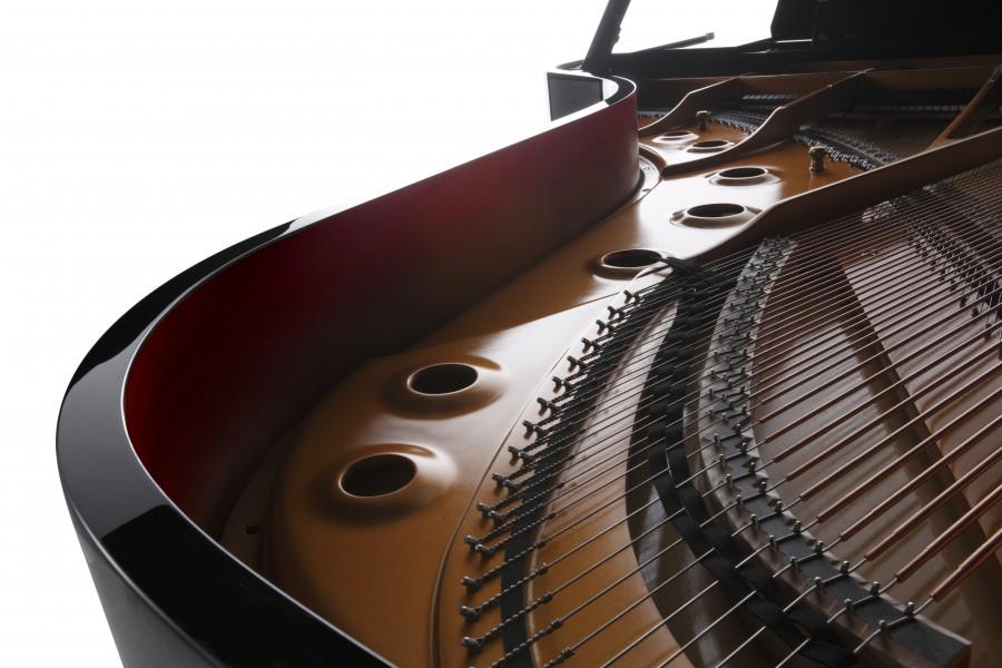 Kawai GX grand piano inside frame