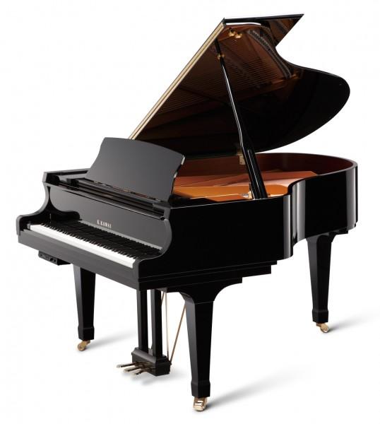 black kawai grand piano