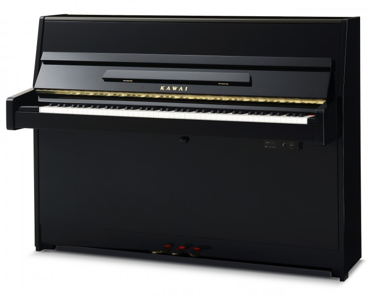 black k-15atx2-p kawai anytime upright piano